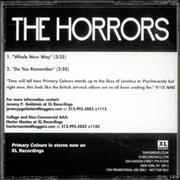 Click here for more info about 'The Horrors - Whole New Way'