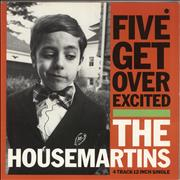 Click here for more info about 'The Housemartins - Five Get Over Excited'