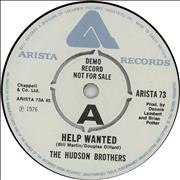 Click here for more info about 'The Hudson Brothers - Help Wanted'