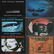 Click here for more info about 'The Icicle Works - Quantity of 6 CD Singles'