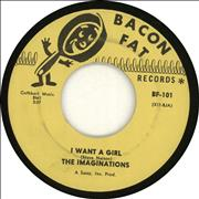 Click here for more info about 'The Imaginations - I Want A Girl'