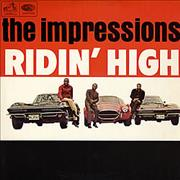 Click here for more info about 'The Impressions - Ridin' High'