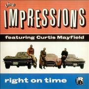 Click here for more info about 'The Impressions - Right On Time'