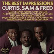 Click here for more info about 'The Impressions - The Best Impressions... Curtis, Sam & Fred'
