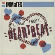 Click here for more info about 'The Inmates - (I Thought I Heard A) Heartbeat'