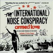 The [International] Noise Conspiracy Armed Love - Autographed USA display Promo