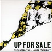The [International] Noise Conspiracy Up For Sale UK CD single Promo