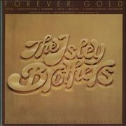 The Isley Brothers Forever Gold UK vinyl LP