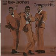 The Isley Brothers Greatest Hits UK vinyl LP