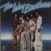 The Isley Brothers Harvest For The World UK vinyl LP