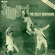"The Isley Brothers Shout! UK 12"" vinyl Promo"
