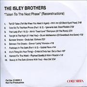 Click here for more info about 'The Isley Brothers - Taken To The Next Phase'
