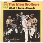 Click here for more info about 'The Isley Brothers - What It Comes Down To'