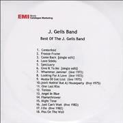 Click here for more info about 'The J. Geils Band - Best Of The J Geils Band'
