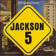 Click here for more info about 'The Jackson Five - 20 Golden Greats - 1st'