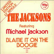 Click here for more info about 'The Jackson Five - Blame It On The Boogie'