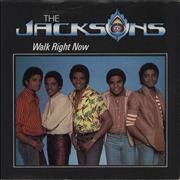 Click here for more info about 'The Jackson Five - Walk Right Now - P/S'