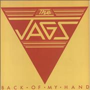 Click here for more info about 'The Jags - Back Of My Hand - P/S'