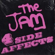 Click here for more info about 'The Jam - 4 Side Affects - Sealed'