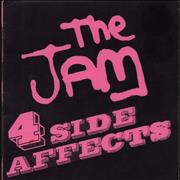 Click here for more info about 'The Jam - 4 Side Affects'
