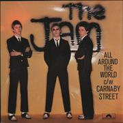 Click here for more info about 'The Jam - All Around The World'