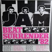 Click here for more info about 'The Jam - Beat Surrender '82'