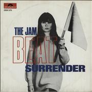 Click here for more info about 'The Jam - Beat Surrender'
