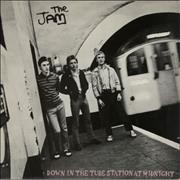 Click here for more info about 'The Jam - Down In The Tube Station At Midnight - P/S'