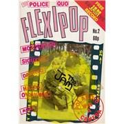 Click here for more info about 'The Jam - Flexipop Magazine No. 2 - Yellow Flexi + Magazine'