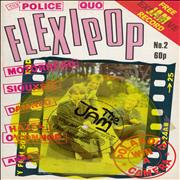 Click here for more info about 'Flexipop Magazine No. 2 - Yellow Flexi + Magazine'