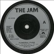 Click here for more info about 'The Jam - Funeral Pyre'