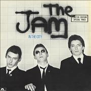Click here for more info about 'The Jam - In The City - Gold Embossed'