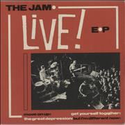 Click here for more info about 'The Jam - Live E.P. - P/s'