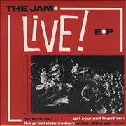 Click here for more info about 'The Jam - Live EP'