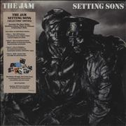 Click here for more info about 'The Jam - Setting Sons - Sealed Box'