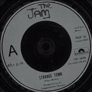 Click here for more info about 'The Jam - Strange Town - Inj'