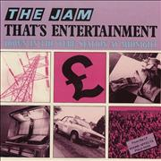 Click here for more info about 'The Jam - That's Entertainment - P/S'