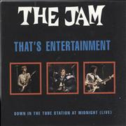 Click here for more info about 'The Jam - That's Entertainment'