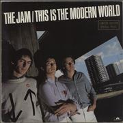 Click here for more info about 'The Jam - This Is The Modern World - Gold Embossed'