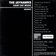 Click here for more info about 'The Jayhawks - Rainy Day Music'