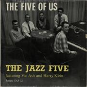 Click here for more info about 'The Jazz Five - The Five Of Us - Factory Sample'