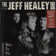 Click here for more info about 'The Jeff Healey Band - Hell To Pay - French sticker'