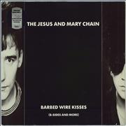 Click here for more info about 'The Jesus & Mary Chain - Barbed Wire Kisses - EX'