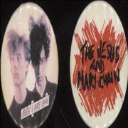 Click here for more info about 'The Jesus & Mary Chain - Pair Of Badges'