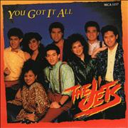 Click here for more info about 'The Jets - You Got It All + Sleeve'
