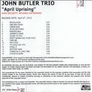 Click here for more info about 'The John Butler Trio - April Uprising'