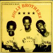 Click here for more info about 'The Jolly Brothers - Conscious Man - P/S'