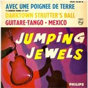 """The Jumping Jewels Avec Une Poignee De Terre EP France 7"""" vinyl"""