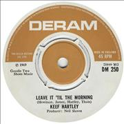 Click here for more info about 'The Keef Hartley Band - Leave It 'Til The Morning'