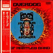 Click here for more info about 'The Keef Hartley Band - Overdog - Promo Stamp'